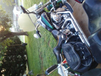 Hunter Green Harley Davidson Heritage Softail