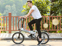 Ancheer Folding City Commuter Electric Bike