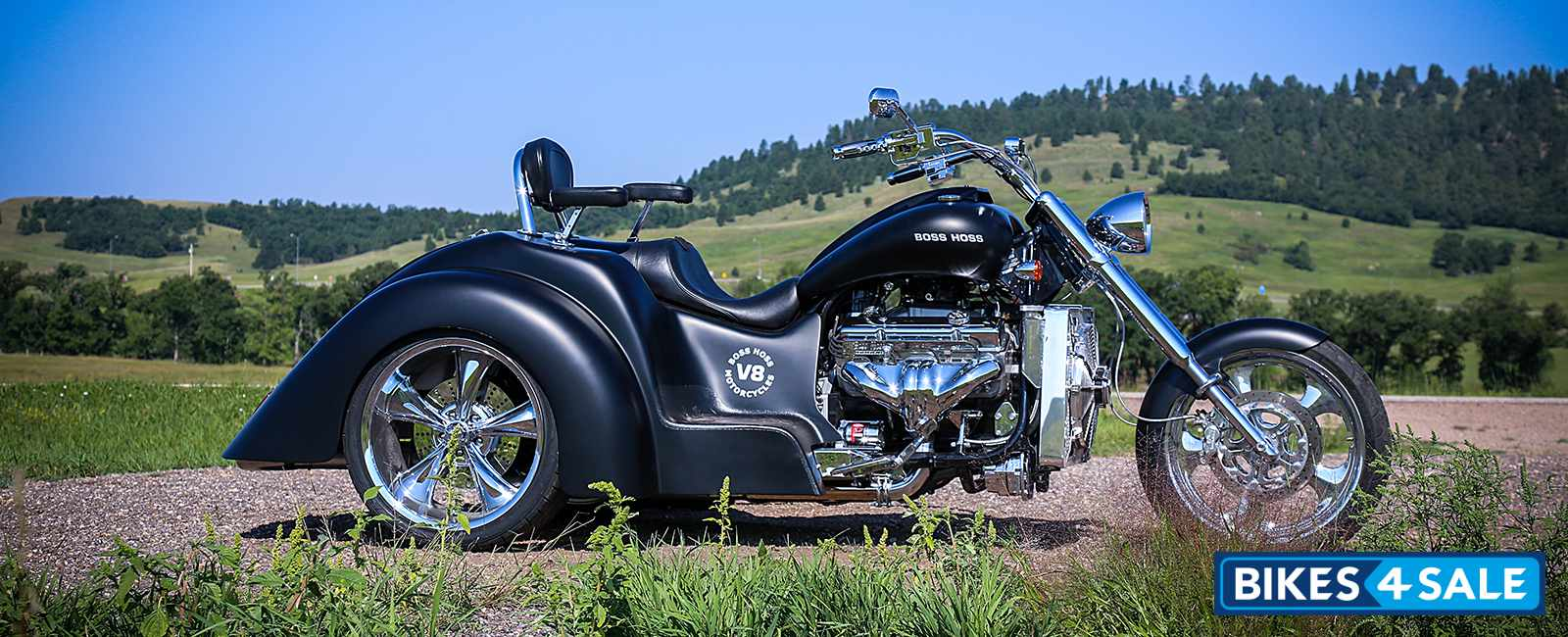 Boss Hoss Willys Trike