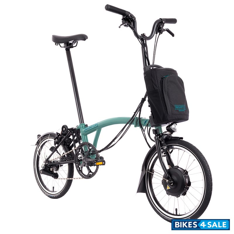 Brompton E-Bike H6L Turkish Green - 6 Speed