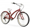 Firmstrong Bella Fashionista 7 Speed - Women s 26 Beach Cruiser Bike
