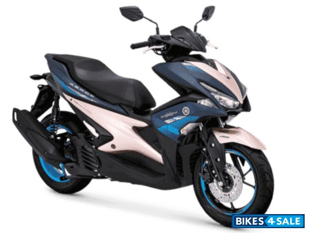 2021 Yamaha Aerox 155 Connected launched in Indonesia